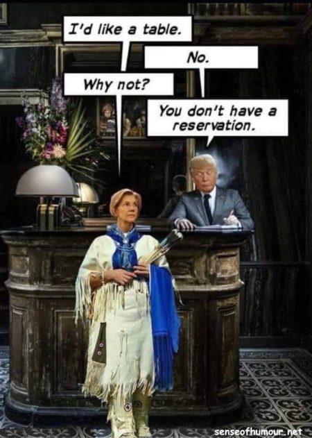 Elizabeth Warren No Reservation